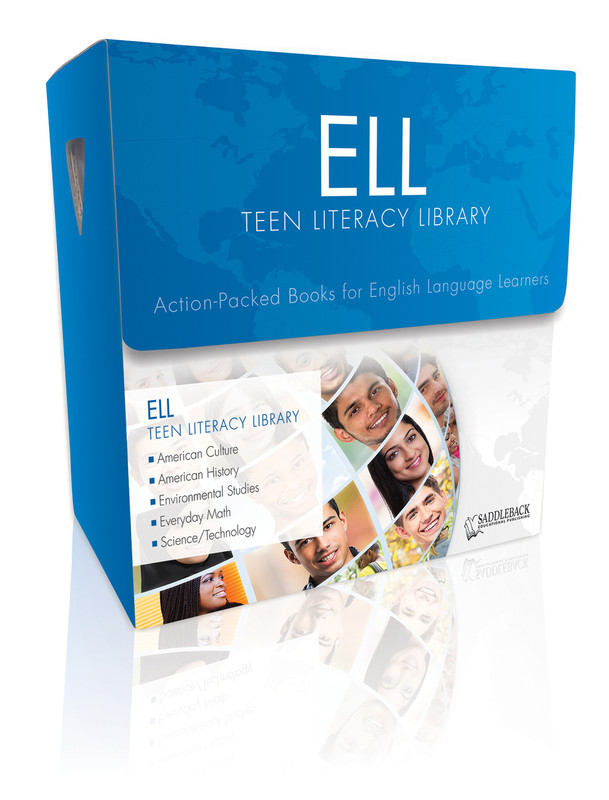ELL Teen Literacy Library (3 each of 20 titles, 100 Vocab Cards, and a teacher's guide)