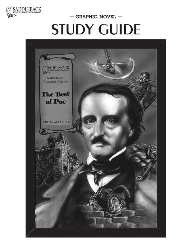 The Best of Poe Graphic Novel Study Guide (Digital Download)