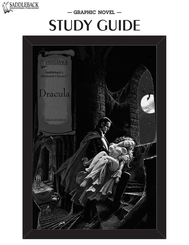 Dracula Graphic Novel Study Guide (Digital Download)