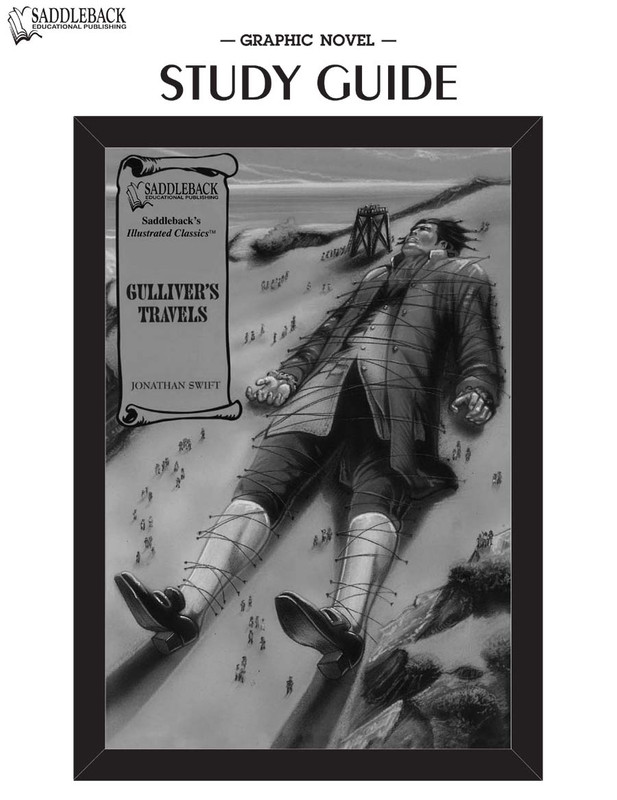 Gulliver's Travels Graphic Novel Study Guide (Digital Download)