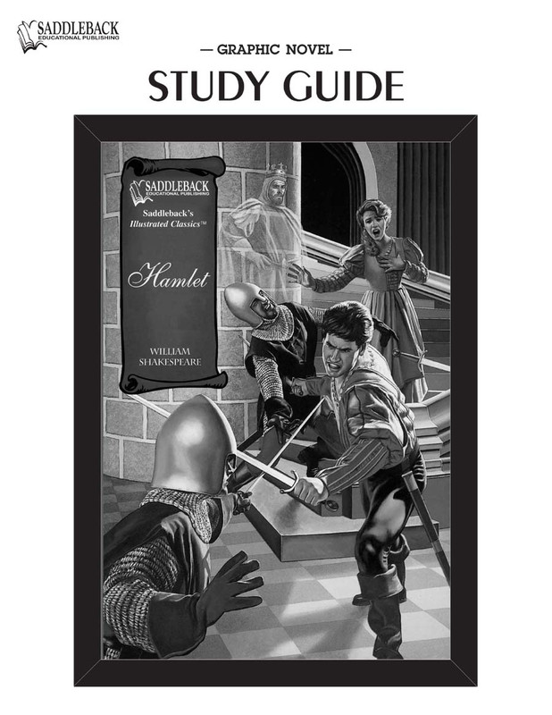 Hamlet Graphic Novel Study Guide (Digital Download)