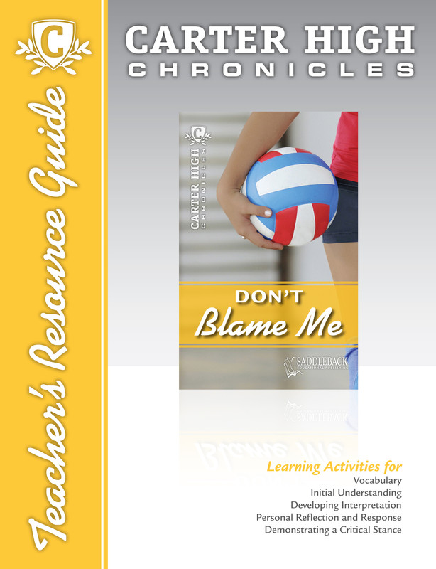 Don't Blame Me Teacher's Resource Guide (Digital Download)