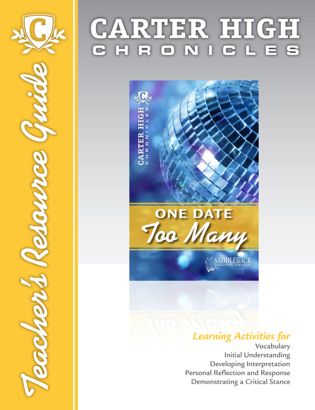 One Date Too Many Teacher's Resource Guide (Digital Download)