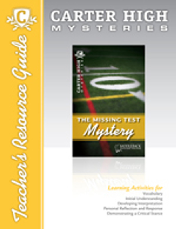 The Missing Test Mystery Teacher's Resource Guide (Digital Download)
