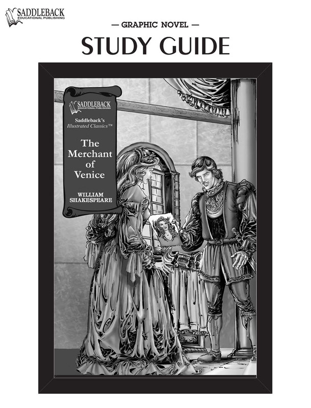 Merchant of Venice Graphic Novel Study Guide (Digital Download)