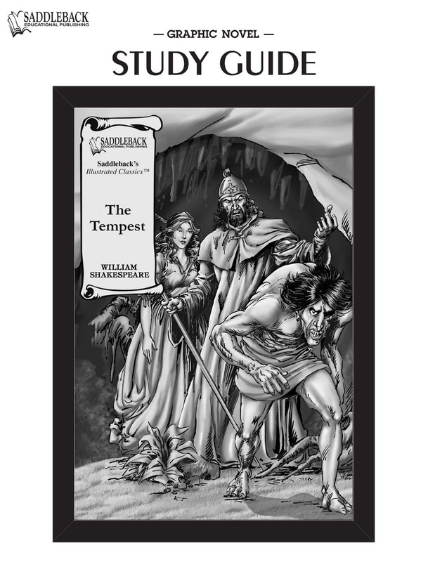 The Tempest Graphic Novel Study Guide (Digital Download)