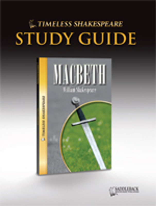 Macbeth Study Guide (Digital Download)