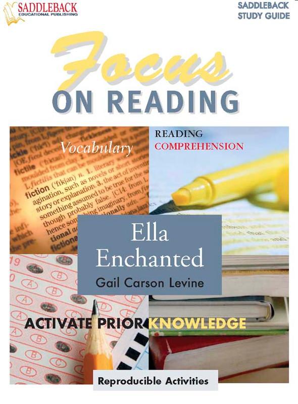 Ella Enchanted: Focus on Reading Guide (Digital Download)