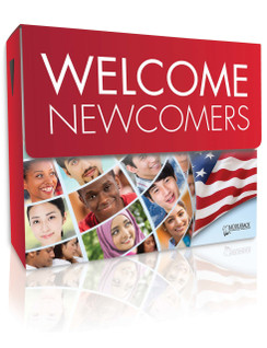 Welcome Newcomers Library (3 each of 28 titles, 140 vocabulary cards, and a teacher's guide)