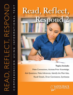 Read Reflect Respond 2 (Digital Download)