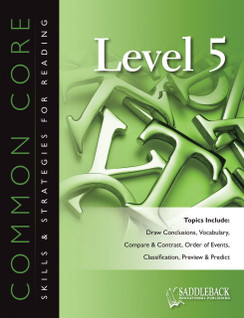 Common Core Skills & Strategies for Reading Level 5 (Digital Download)