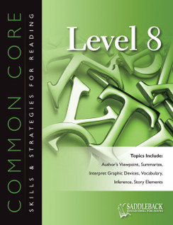 Common Core Skills & Strategies for Reading Level 8 (Digital Download)
