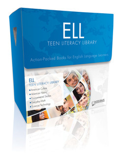 ELL Teen Literacy Library (3 each of 20 titles, 100 Vocabulary Cards, and a teacher's guide)