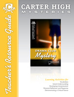 Drama Club Mystery Teacher's Resource Guide (Digital Download)