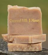 Oatmeal Milk & Honey Goat Milk Soap Slice