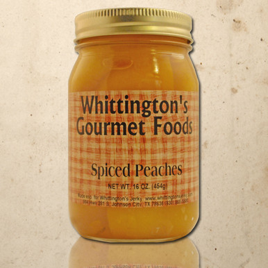 Whittington's Gourmet Foods - Spiced Peaches
