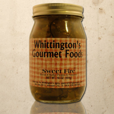 Whittington's Gourmet Foods - Sweet Fire Bread & Butter Pickles