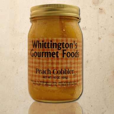 Whittington's Jerky Gourmet Foods - Peach Cobbler