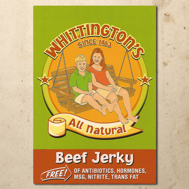 Whittington's All Natural Beef Jerky