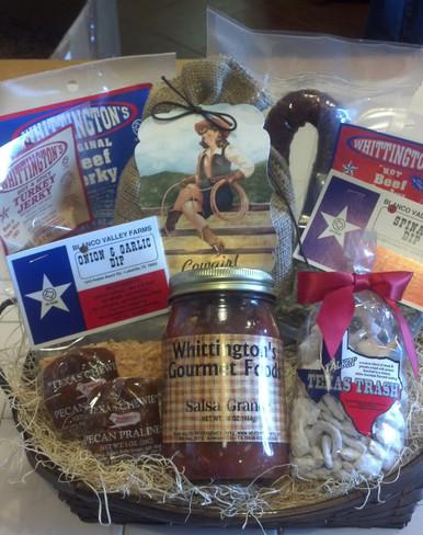 Jerky Gift Baskets - Taste of Texas