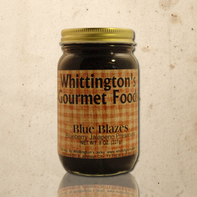 Whittington's Gourmet Foods - Blue Blazes Fancy Preserves