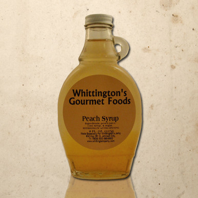 Whittington's Gourmet Foods - Peach Syrup