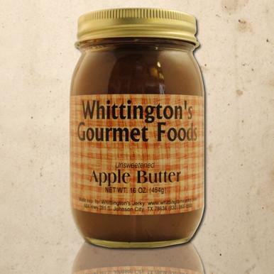 Whittington's Gourmet Foods - Apple Butter, No Sugar Added