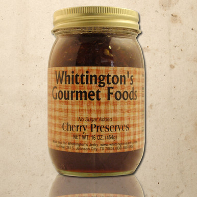 Whittington's Gourmet Foods - Cherry Preserves, No Sugar Added
