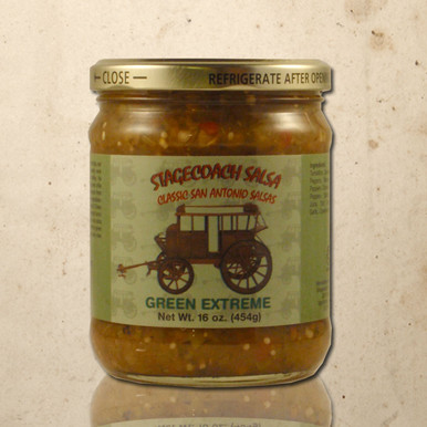 Whittington's Gourmet Foods - Stagecoach Green Extreme Salsa