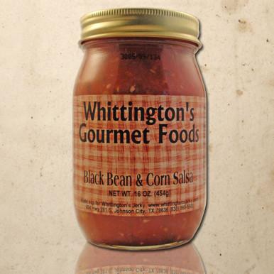 Whittington's Gourmet Foods - Black Bean & Corn Salsa (Medium)