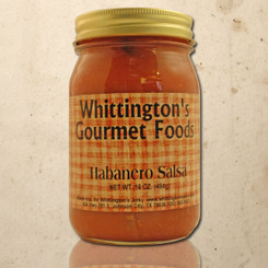 Whittington's Gourmet Foods - Habanero Salsa (Hot)