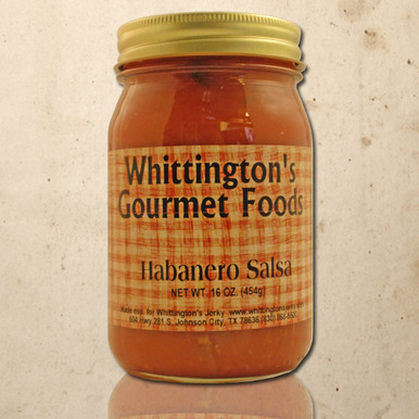 Whittington's Gourmet Foods - Habanero Salsa (Hot)