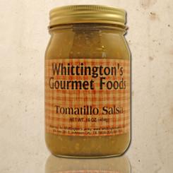 Whittington's Gourmet Foods - Tomatillo Salsa (Medium)