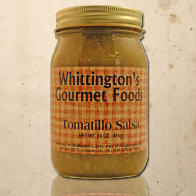 Whittington's Gourmet Foods - Tomatillo Salsa (Medium)