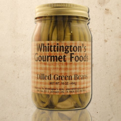 Whittington's Gourmet Foods - Dilled Green Beans