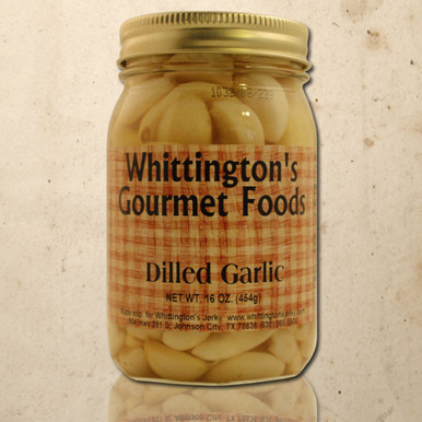 Whittington's Gourmet Foods - Dilled Garlic