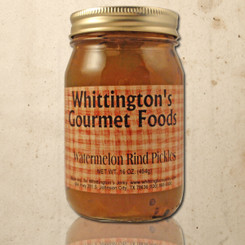 Whittington's Gourmet Foods - Watermelon Rind Pickles (seasonal)
