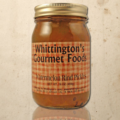 Whittington's Gourmet Foods - Watermelon Rind Pickles (seasonal)