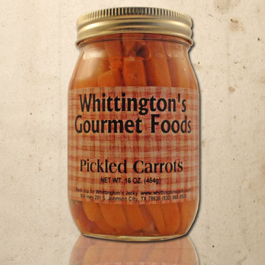 Whittington's Gourmet Foods - Pickled Carrots
