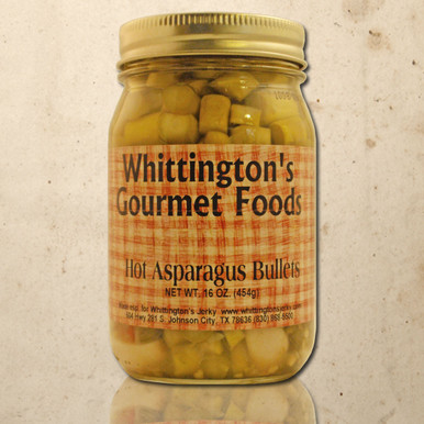 Whittington's Gourmet Foods - Hot Asparagus Bullets