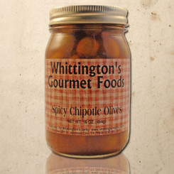 Whittington's Gourmet Foods - Spicy Chipotle Olives