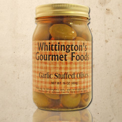Whittington's Gourmet Foods - Garlic Stuffed Olives