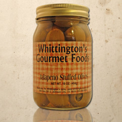 Whittington's Gourmet Foods - Jalapeno Stuffed Olives