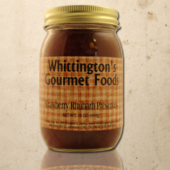 Whittington's Gourmet Foods - Strawberry Rhubarb Preserves