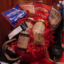 Whittington's Jerky Gift Baskets - Big Tex Basket