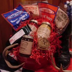 Whittington's Jerky Gift Baskets - Big Tex Basket
