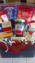 Texas Bandana Basket