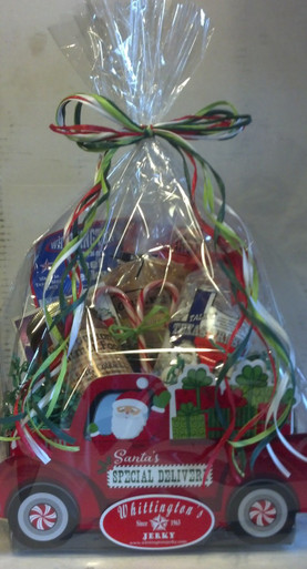 Santa's Special Delivery Basket - wrapped