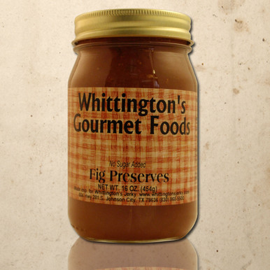 Whittington's Gourmet Foods - Fig Preserves, No Sugar Added (seasonal)