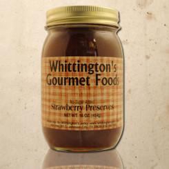 Whittington's Gourmet Foods - Strawberry Preserves, No Sugar Added